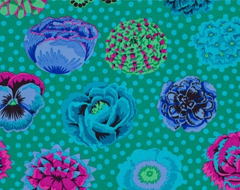Classics - Big Blooms in Emerald by Kaffe Fassett for Westminster