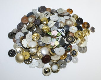 Mixed Style Button Lot-B
