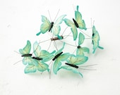 Green Butterflies Comb Wholesale Hair Accessory Decoration Butterflies Crown Bridal Wedding Hair Wedding Comb Christmas Xmas Gifts