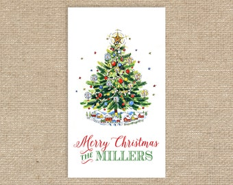 Digital Personalized Christmas Tree Tags