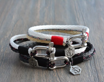 Men's Bracelet SALTI Nautical Bracelet '3rd Wave' (Triple DEAL)
