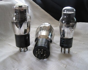 Vintage Coke Bottle Vacuum Tubes - NU, Philco, and Zennith