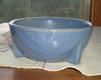 Art Deco Blue Bowl