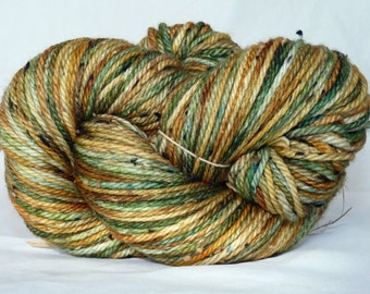 Pumpkin Patch - Aran Weight Tweed Yarn