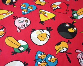 Angry Birds Fabric Disney Movie Stars Blake Shelton New By The Fat Quarter