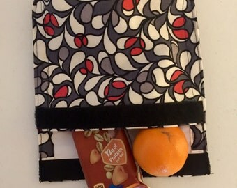 Eco friendly reusable lunch or snack bag