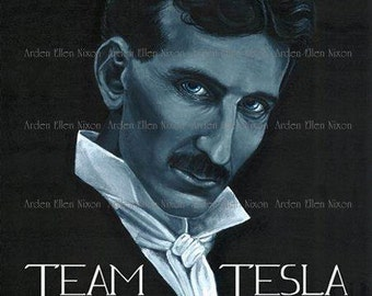 Team Tesla 5 Postcard Set