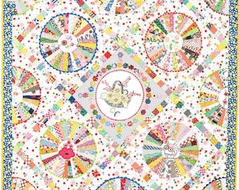 30s Wheel quilt pattern