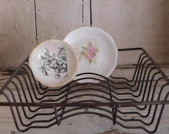 Vintage Toy Metal Wire Dish Drainer