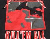 "Vintage Metallica ""Kill Em All"" T-Shirt"