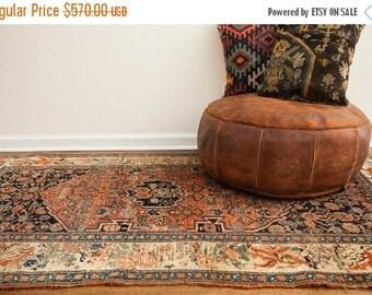 HAPPY SUMMER 10% OFF Discounted 4x7 Antique Persian Bijar Rug