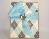 Gift Box Plaid Blue Men Boys Box Wrap Wedding Favors Boxes Christmas Gift Jewelry Gift Box, Mothers  Ideas, Wedding Party Gifts,  Gift Boxes