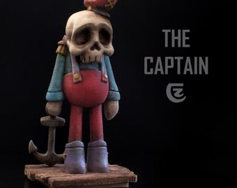 The Captain Designer Toy Limited edition Art Toy