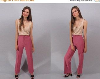 On Sale - Vintage 70s High-Waist Levis Pants, Wide-Leg Pants, Boho Pants, Hippie Pants, 70s Trousers Δ size: xs / sm