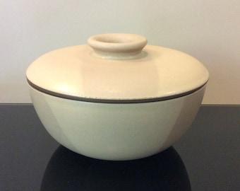 Edith Heath Ceramics Birch Two Tone Covered Serving Bowl (96 oz / 3 quart)
