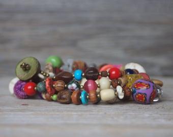 Long necklace boho - Long Layering Boho Chic - Necklace - Bohemian Chic - Boho Hippie Style - Fashion jewelry - Necklaces for women