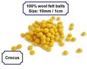 Small felt balls handmade pom pom balls wool felt balls bead felt arts and crafts 10mm 100%