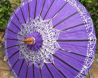 PurpleRain Lotus parasol