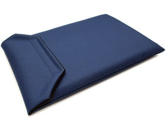 Surface Pro 4 Sleeve - Water Resistant - Navy Blue Canvas