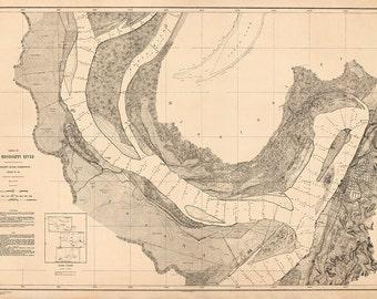 Mississippi River – 1878