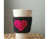 Crochet Coffee Sleeve Cup Sleeve Handmade Coffee Cozy