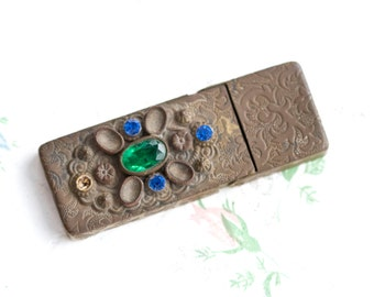 Ornate Antique Pill Box