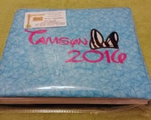 Autograph Book/Journal Large Personalized Monogrammed
