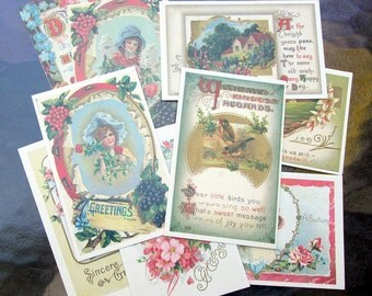 1960's Free Gift Greeting Cards from Reader's Digest Music