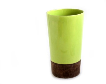 Bennett and Burress Apple Green California Pottery Planter