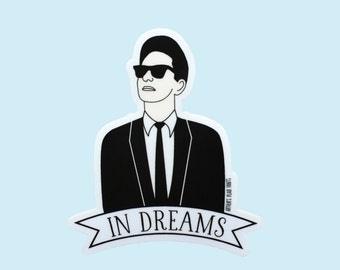 Roy Orbison sticker
