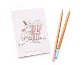 SALE Sweet Treats Colouring Book