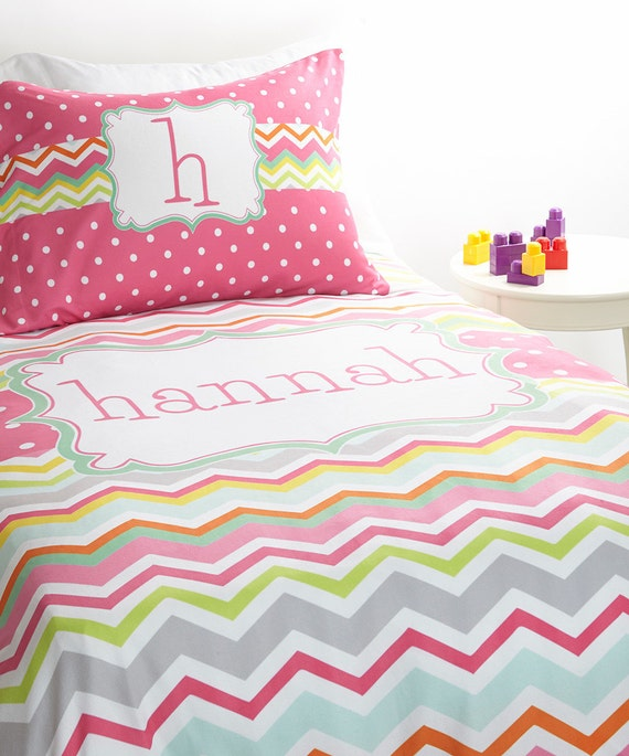 Personalized Twin Duvet Set