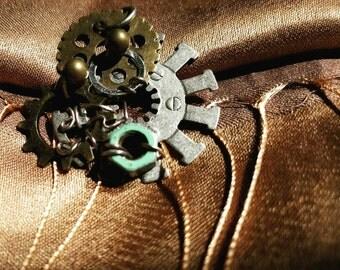 Steampunk Gears Pendant