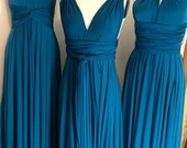 """RESERVED for Amber - 1 Custom Princess """"Infinity"""" Dress in Indy Chambray Matte"""