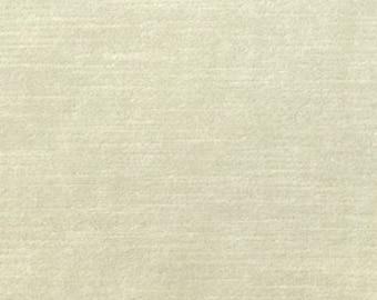 Ivory Velvet Pillow Cover, Ivory Pillow, Decorative Pillow, Modern, Vanilla, Throw Pillow, Neutral, Solid, Piping, Cotton Velvet, Cream