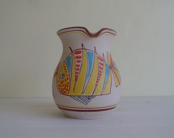 Quirky Colourful Fish Jug - Kitchen Jug