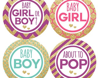 FREE GIFT Baby Bump Stickers, Pregnancy Belly Stickers, Belly Stickers, Weekly Pregnancy Stickers, Glitter, New Baby Announcement, Gift