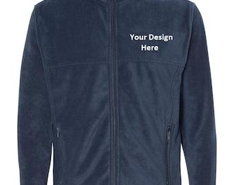Men's Custom Embroidered Fleece Jacket--More Colors