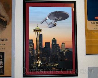 Star Trek in Seattle - Limited Edition Art Print