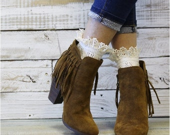 Lace socks, short boots, peep, ankle, crochet, vintage, lace, wedding, bridal, romantic, lacy,rustic, boho, spring,hosiery, fashion | CS10