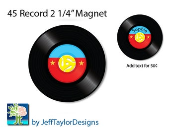 45 Record Magnet