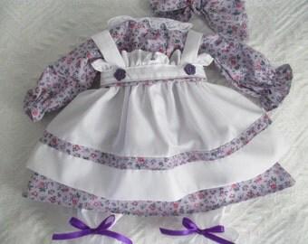 """Handmade 20"""" Raggedy Ann Dress"""