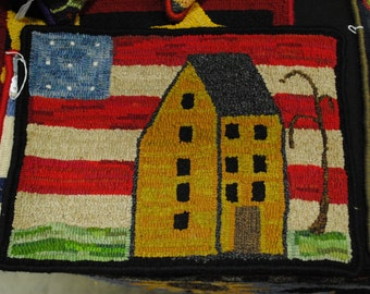 Americana Saltbox Home