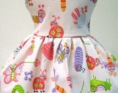 Garden Mouse Sleeveless Dress for your American Girl Doll F