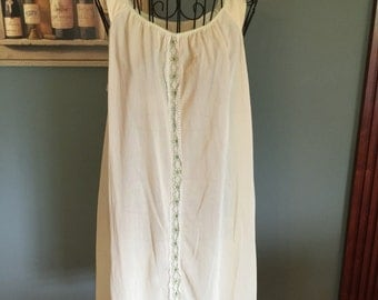 1950's Vintage Nightgown, size S/M