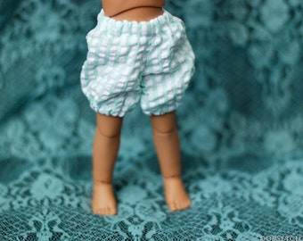 YoSD Mint Gingham Bloomers For BJD