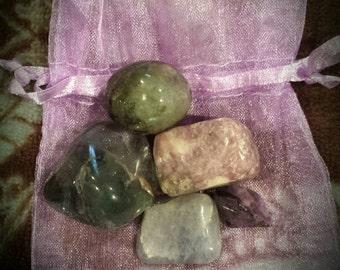 3rd Eye Chakra Crystal Healing Kit
