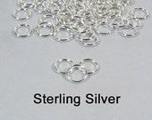 5mm 20ga Sterling Silver Jump Rings - Choose Your Quantity