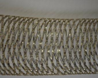"2"" Gold Metallic Mylar Braid"