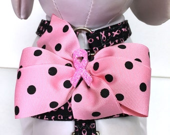 Dog Harness- The Pink Ribbon